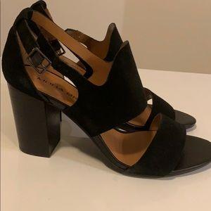 Mods Spana Black Sandal Heels